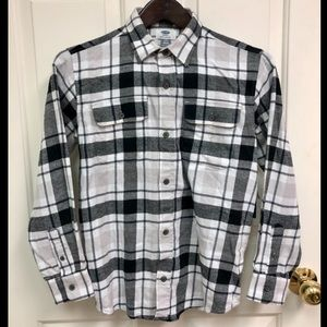 Old Navy Plaid Flannel NWT